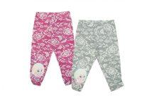 Lányka leggings 3/4-es / méret.98-140/
