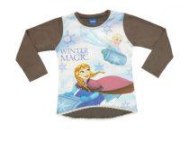 Disney Jégvarázs-Frozen gyerek hosszú ujjú póló (méret: 104-140)