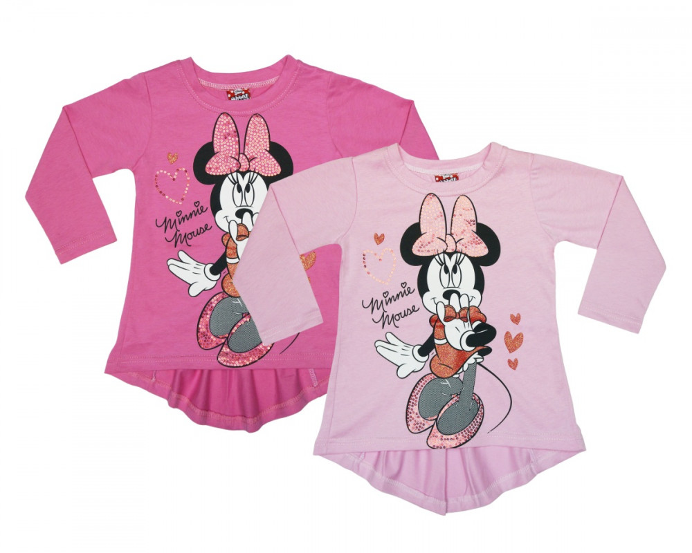 81826b962f Disney Minnie gyerek hosszú ujjú póló (méret: 86-116)