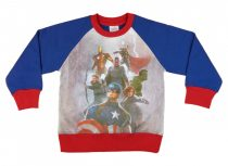 Avengers belül bolyhos, hosszú ujjú póló (méret: 104-140)