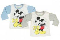 Disney Mickey baba/gyerek hosszú ujjú póló (méret: 68-104) *isk