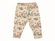 Virág mintás lányka leggings (méret: 74-116)