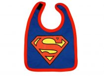 Superman tépőzáras előke