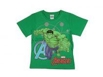 Avengers rövid ujjú fiú póló (méret:104-140)