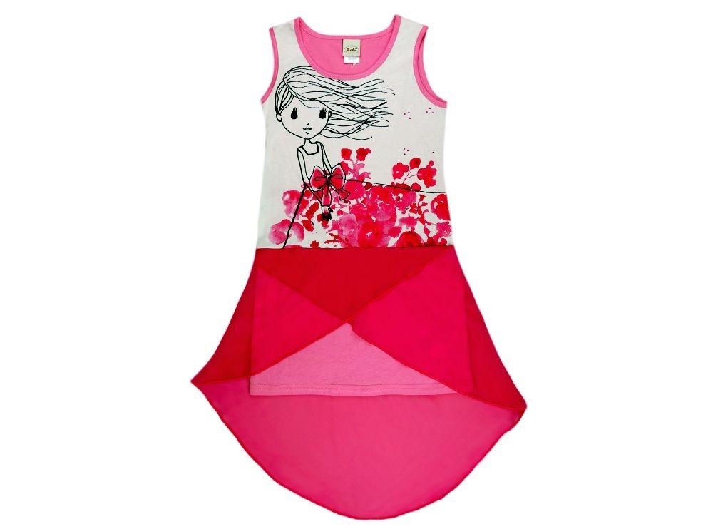 9597e2dbe1 Ujjatlan nyári ruha (méret: 128-152)