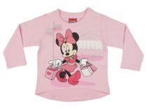 Disney Minnie hosszú ujjú póló (méret: 92-116)