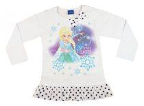 Disney Jégvarázs/Frozen hosszú ujjú lányka tunika (méret: 104-140)
