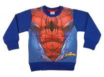 Pókember belül bolyhos fiú pulóver (méret: 104-140)