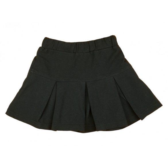 Alkalmi ünneplő fekete rakott lányka szoknya (méret  104-152) f98ae8e098