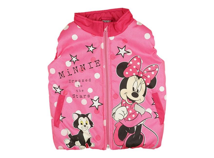 Disney Minnie vízlepergetős bélelt mellény (méret  80-116) 43d163a745