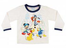 Disney Mickey egér és barátai hosszú ujjú póló (méret: 74-98)
