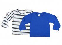 Akciós hosszú ujjú fiú pólók párban (méret: 86-134)