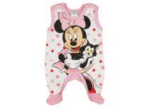 Disney Minnie ujjatlan, belül bolyhos rugdalózó (méret: 50-68)