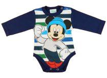 Disney Mickey hosszú ujjú kombidressz (méret: 56-92)