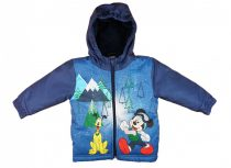 *** Disney Mickey vízlepergetős kapucnis téli kabát (méret: 74-110)