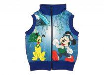 Disney Mickey belül bolyhos mellény (méret: 74-110)