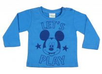 Disney Mickey hosszú ujjú póló (méret: 68-110)