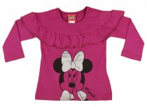 Disney Minnie hosszú ujjú lányka póló (méret: 92-140)