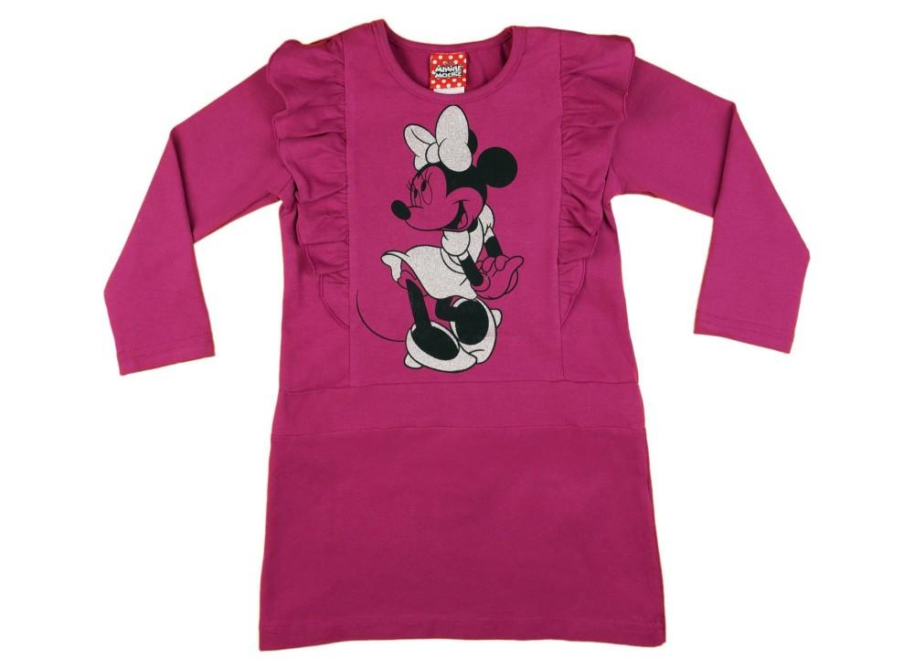 b90bc06a38 Disney Minnie hosszú ujjú lányka ruha (méret: 98-134)