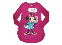 Disney Minnie női, hosszú ujjú tunika (méret: S-XXL)