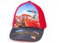 Disney Cars hálós nyári baseball sapka piros UPF 30+ (52cm)