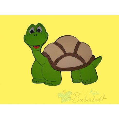 Fali dekoráció - teknős