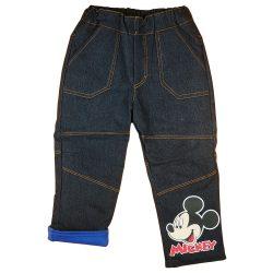 Disney Mickey bélelt baba, gyerek farmernadrág (méret:74-122)