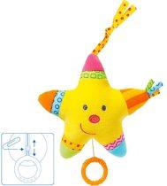Baby Fehn felhúzható zenélő játék - csillag