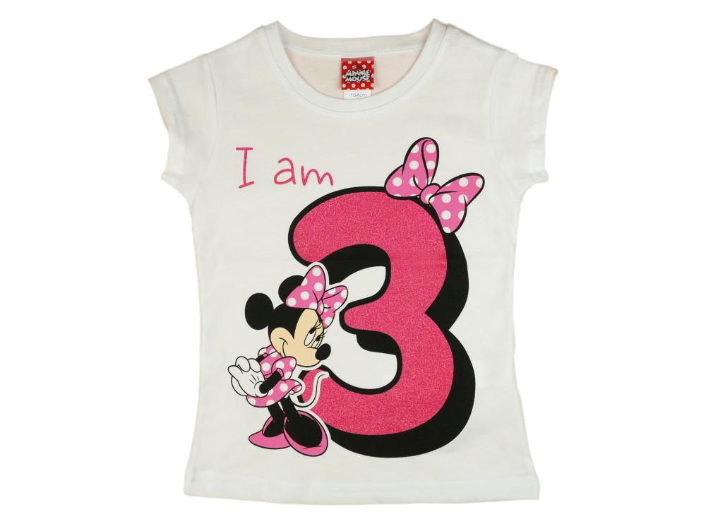 Disney Minnie szülinapos póló 3 éves - Babaruha  a4f003e38a