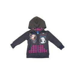 Disney Jégvarázs-Frozen kockás zsebes gyerek pulóver (méret:104-134)