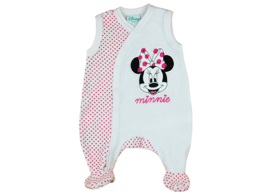 Disney Minnie lányka ujjatlan plüss rugdalózó d61f84b457