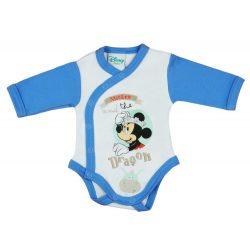 Disney Mickey fiú hosszú ujjú kombidressz elöl pat