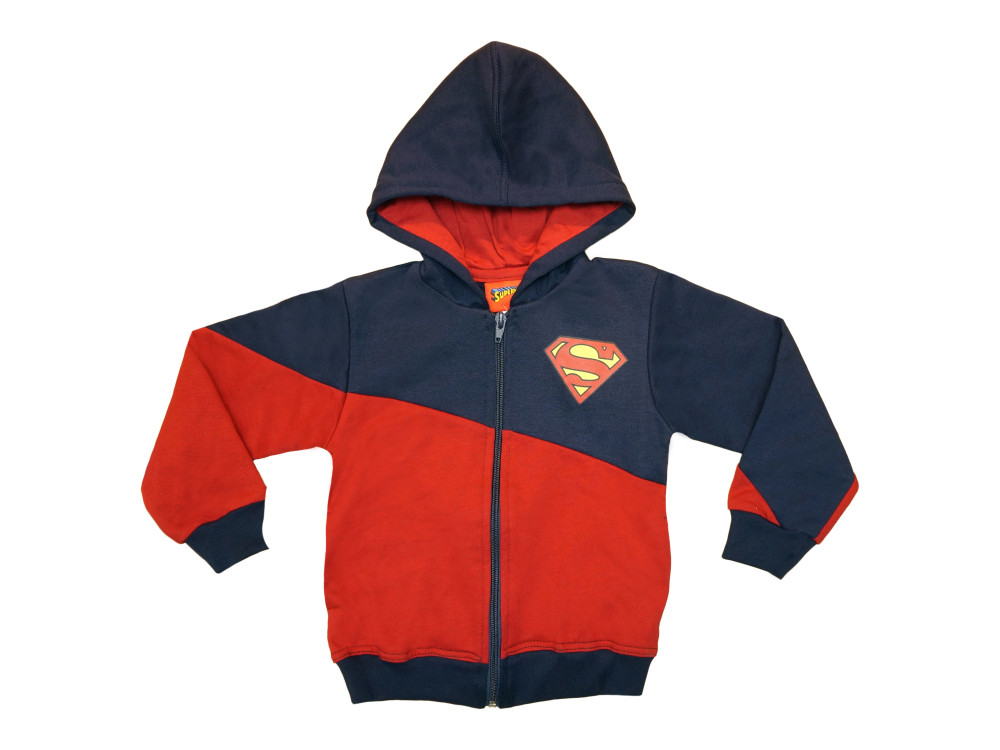 Superman gyerek bolyhos kardigán (méret: 104 146)