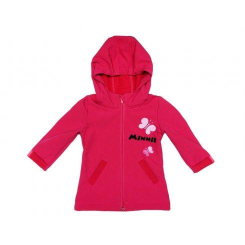 Disney Minnie babagyerek vízlepergető átmeneti kabát (méret: 80 128)