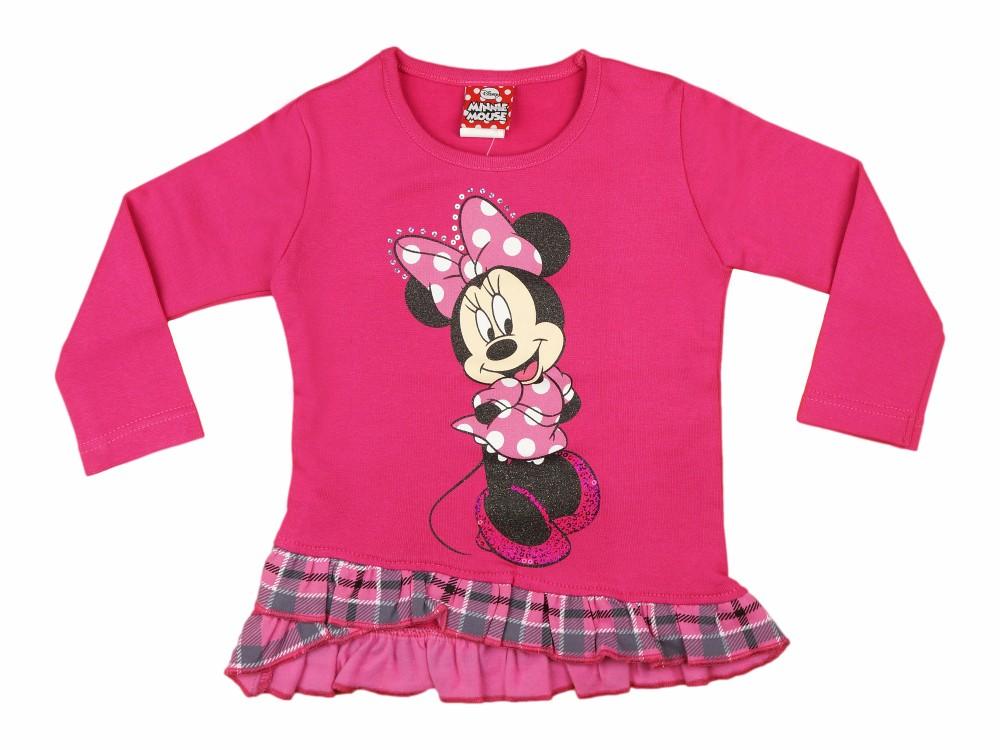 1506817015 Disney Minnie hosszú ujjú tunika (méret: 74-116)