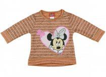 Disney Minnie lányka kötött pulóver