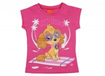 Paw Patrol lányka rövid ujjú póló pink