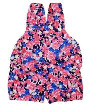 Disney Minnie lányka kantáros napozó virágos