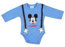 Disney Mickey fiú hosszú ujjú kombidressz Kezek