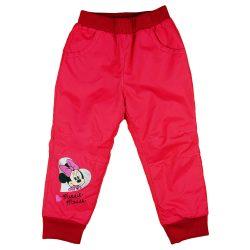 Disney Minnie vízlepergetős bélelt nadrág