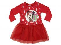 Disney Minnie Mikulás lányka hosszú ujjú tüllös ru