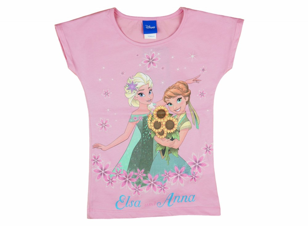 55f24945af Disney Frozen/Jégvarázs rövid ujjú lányka póló