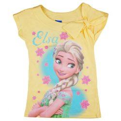 Disney Frozen/Jégvarázs lányka dekor vállú póló