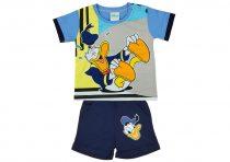 Disney Donald fiú 2 részes rövid ujjú póló/short szett