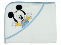 Disney Mickey kapucnis törölköző méret: 70x90 cm