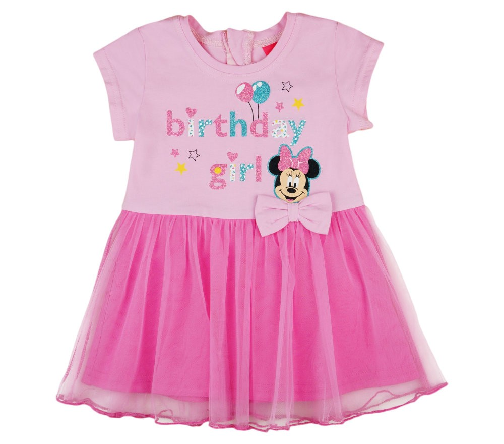 bd7707b7c0 Disney Minnie szülinapos, tüllös rövid ujjú ruha