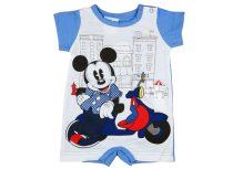 Disney Mickey fiú rövid ujjú napozó motoros