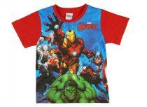 Avengers/Bosszúállók fiú rövid ujjú póló