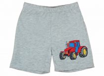 Kisfiú traktor mintás short