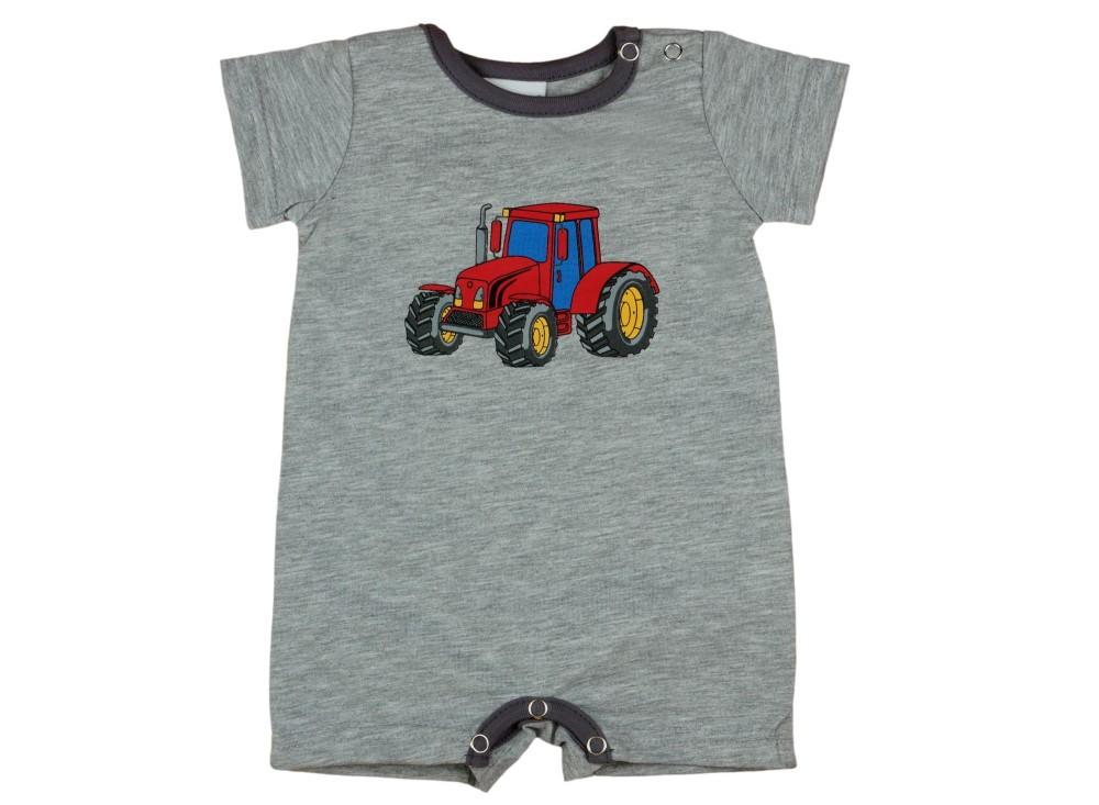 Traktor mintás fiú rövid ujjú napozó 4221cf63b4